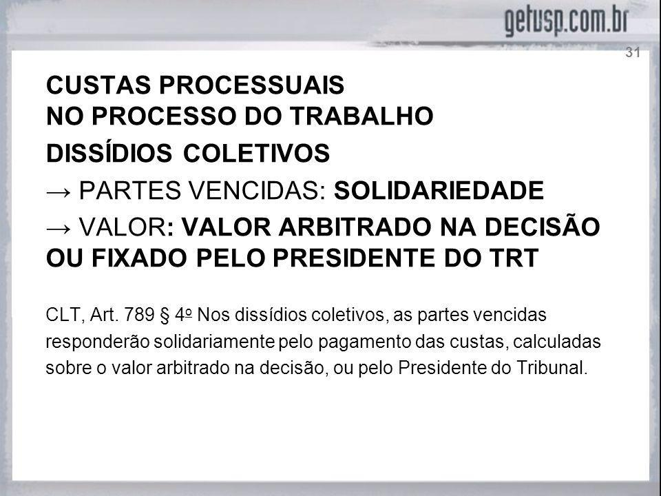 NO PROCESSO DO TRABALHO DISSÍDIOS COLETIVOS