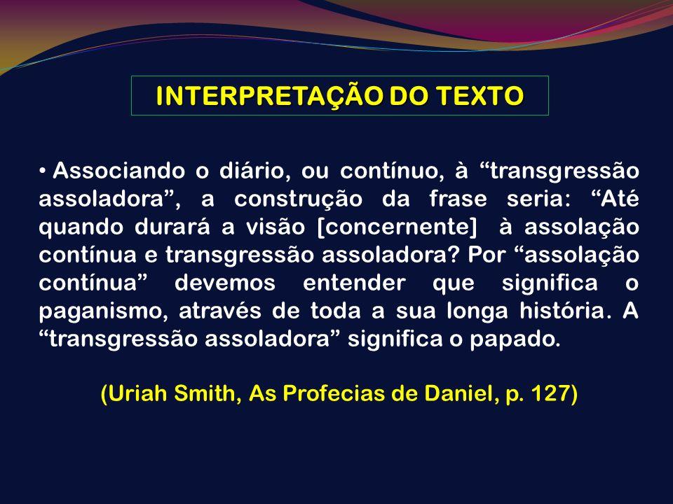 INTERPRETAÇÃO DO TEXTO