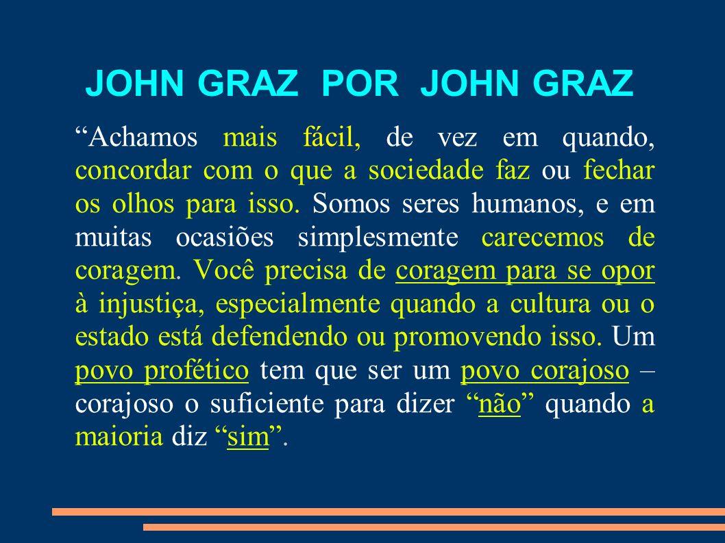 JOHN GRAZ POR JOHN GRAZ