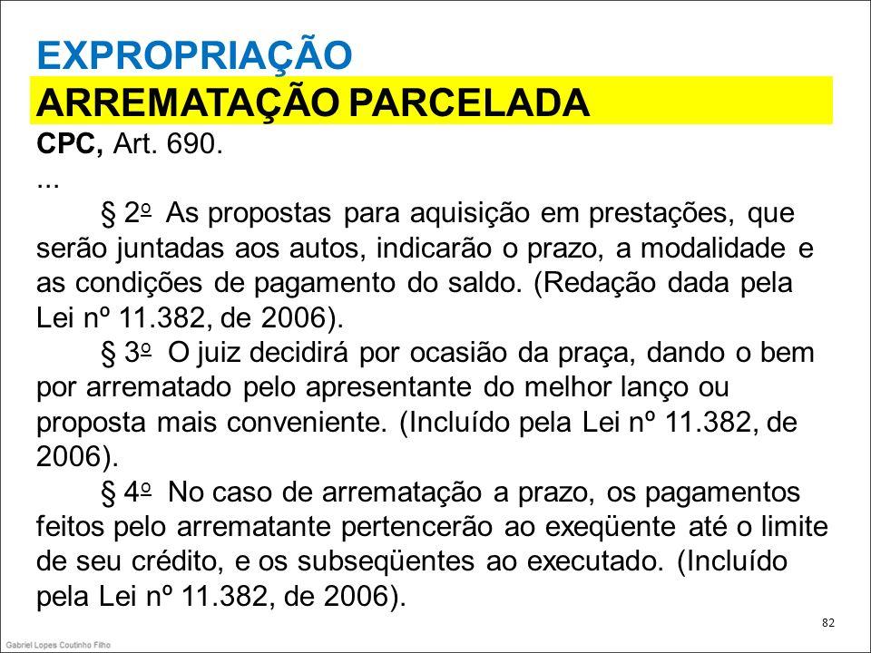 ARREMATAÇÃO PARCELADA
