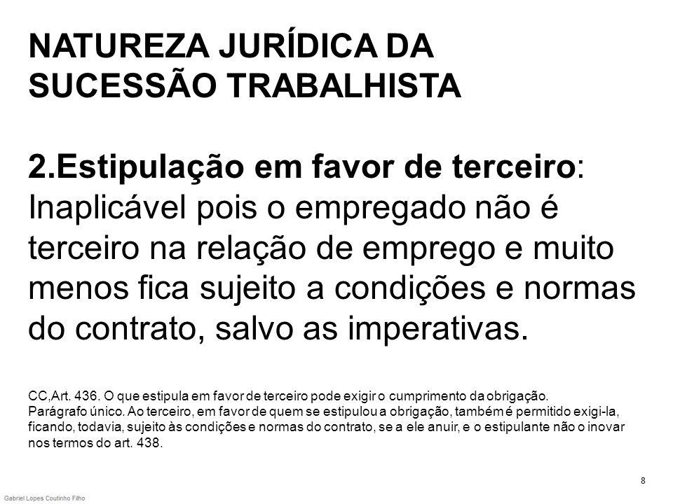 NATUREZA JURÍDICA DA SUCESSÃO TRABALHISTA 2
