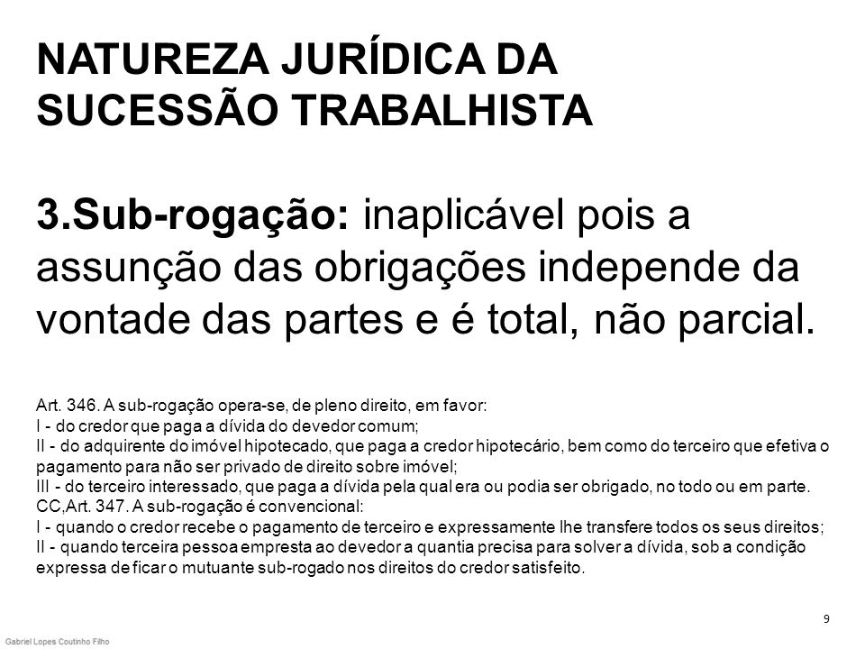 NATUREZA JURÍDICA DA SUCESSÃO TRABALHISTA 3