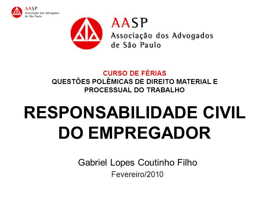 Gabriel Lopes Coutinho Filho Fevereiro/2010