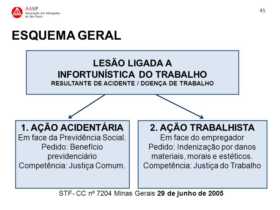 ESQUEMA GERAL STF- CC nº 7204 Minas Gerais 29 de junho de 2005