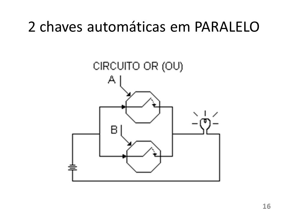 2 chaves automáticas em PARALELO