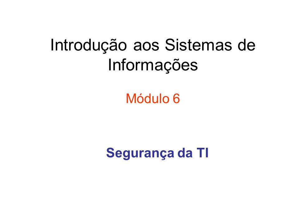 Introdução aos Sistemas de Informações Módulo 6