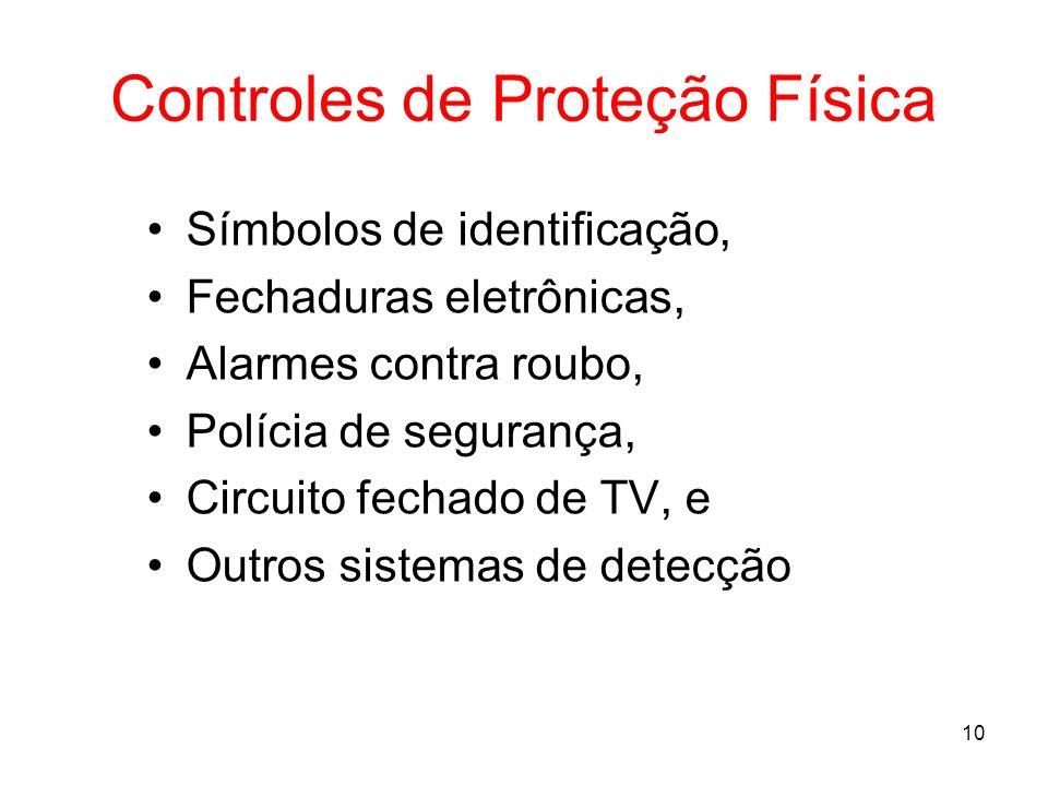 Controles de Proteção Física