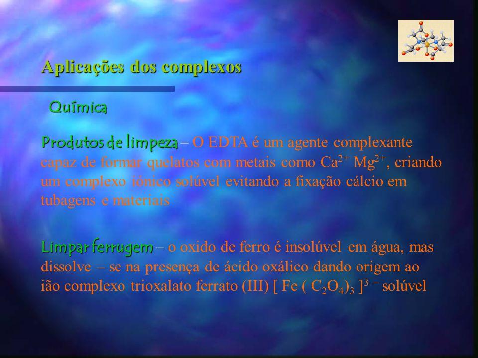 Aplicações dos complexos