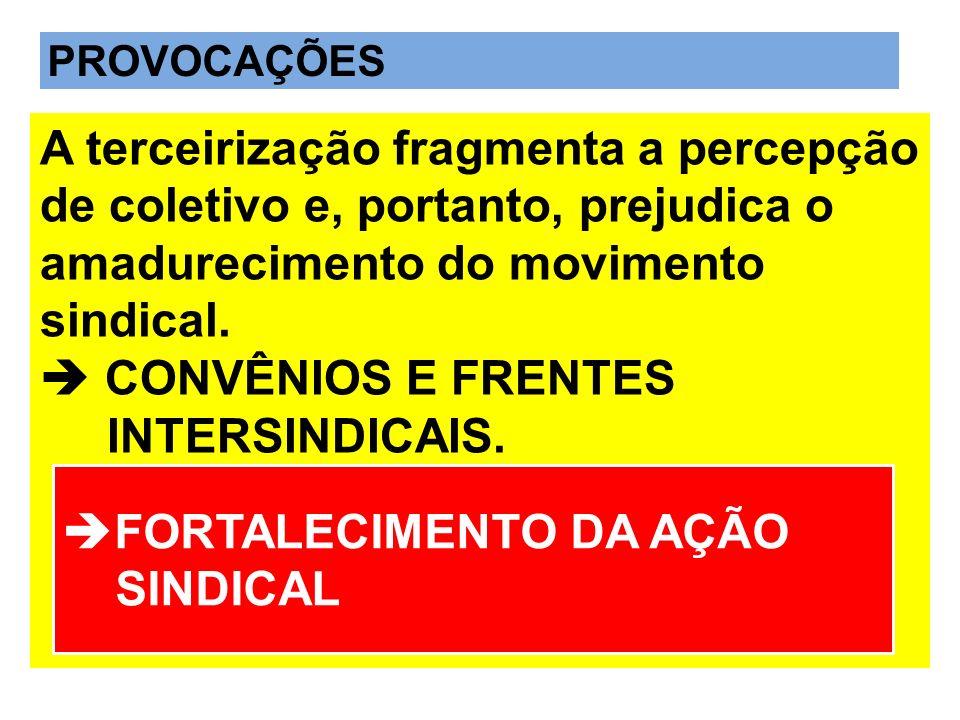 FORTALECIMENTO DA AÇÃO SINDICAL