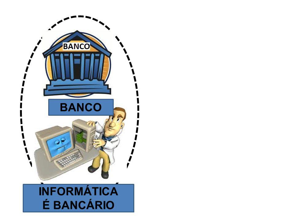 BANCO INFORMÁTICA É BANCÁRIO