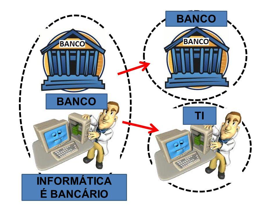 BANCO BANCO TI INFORMÁTICA É BANCÁRIO