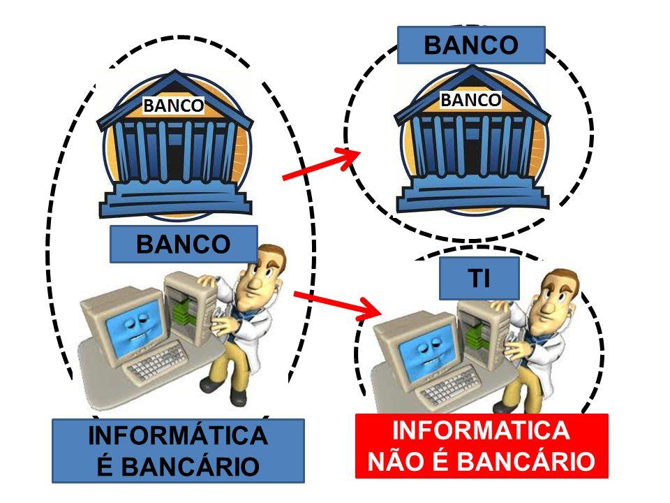 BANCO BANCO TI INFORMATICA NÃO É BANCÁRIO INFORMÁTICA É BANCÁRIO