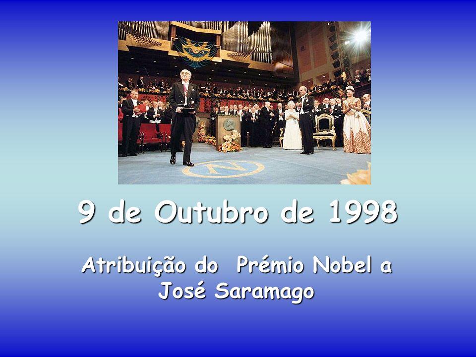 Atribuição do Prémio Nobel a José Saramago