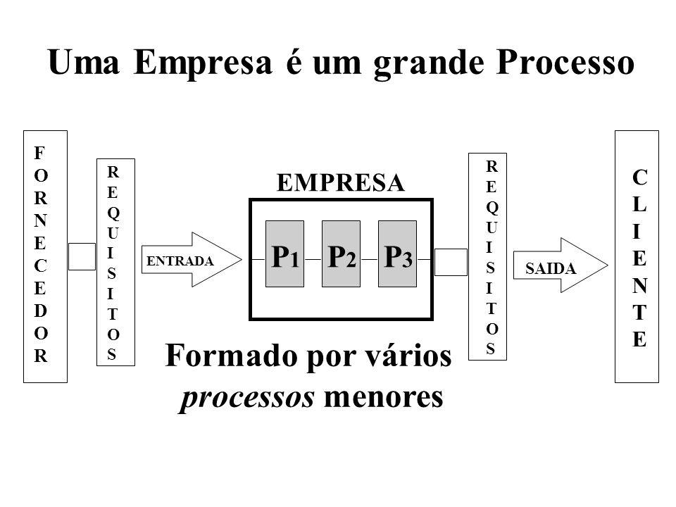Uma Empresa é um grande Processo
