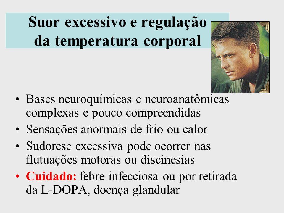 Suor excessivo e regulação da temperatura corporal