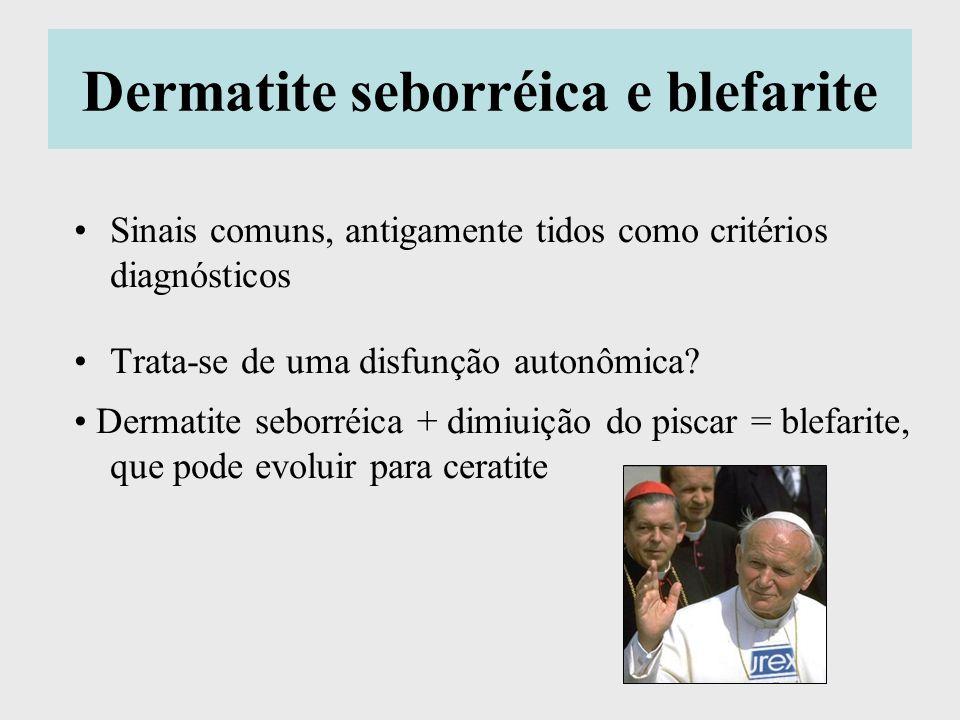 Dermatite seborréica e blefarite