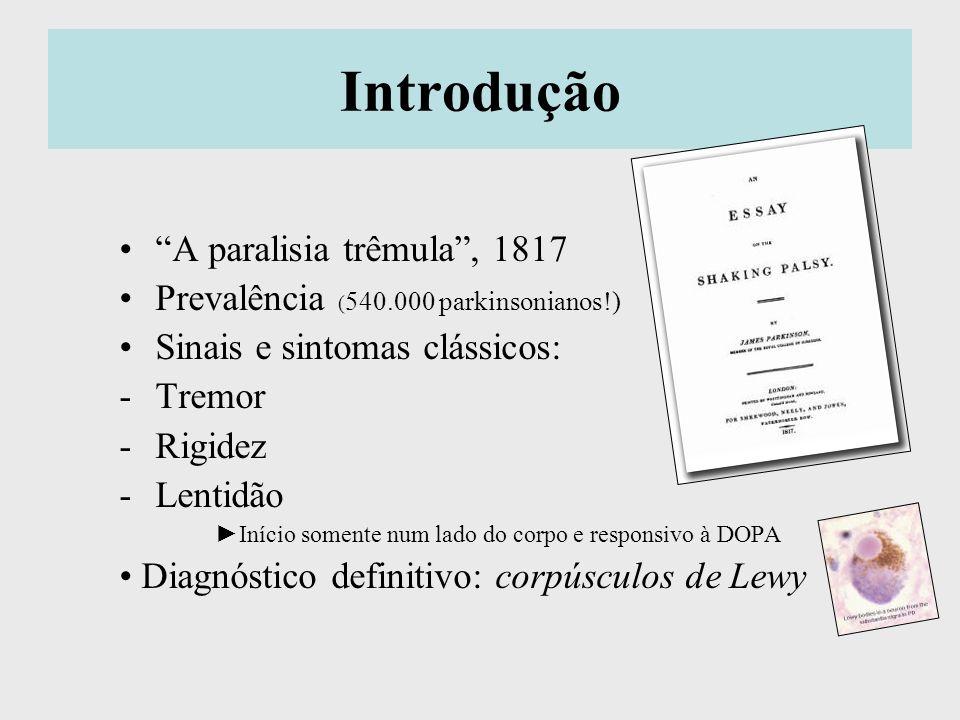 Introdução A paralisia trêmula , 1817