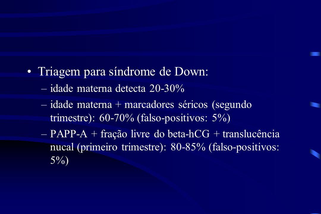 Triagem para síndrome de Down: