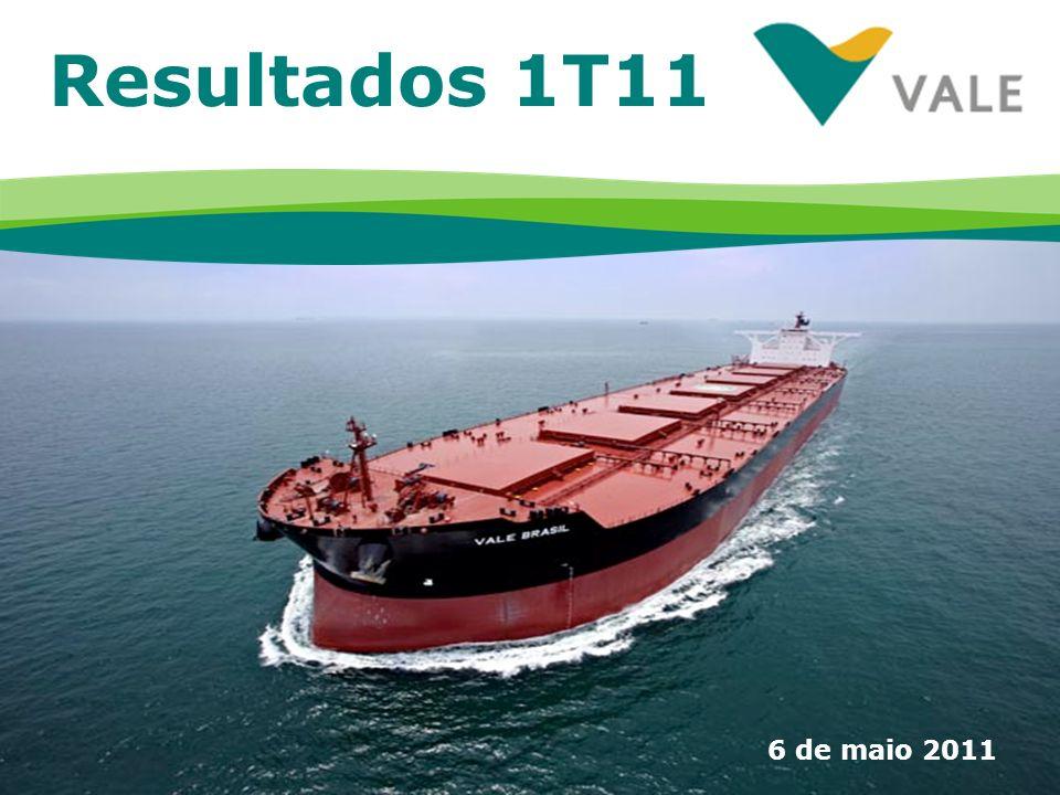 Resultados 1T11 6 de maio 2011