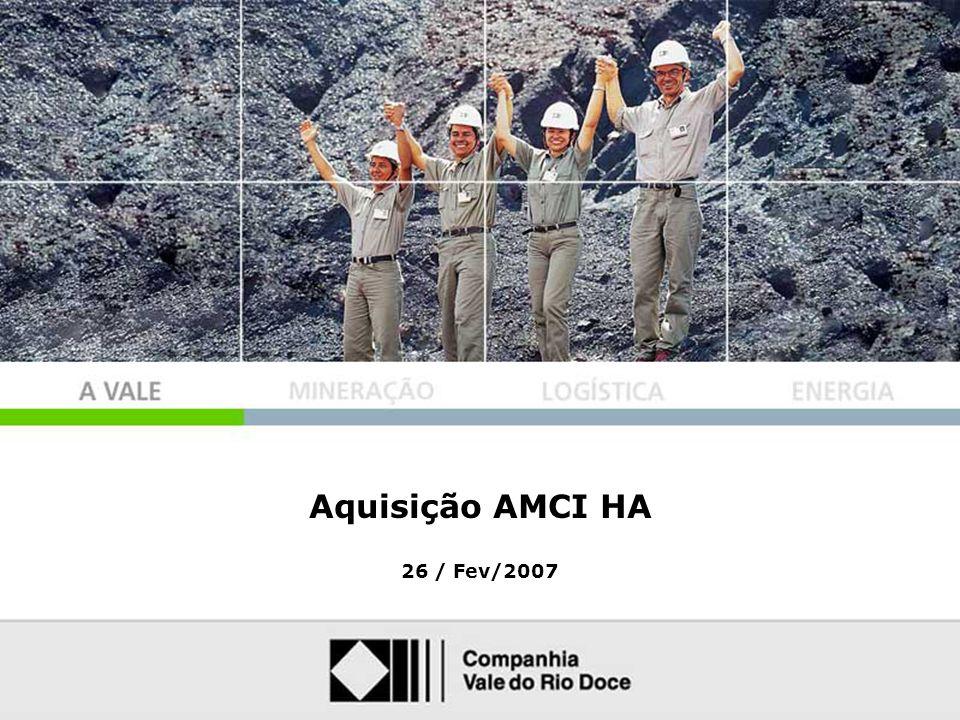 Aquisição AMCI HA 26 / Fev/2007