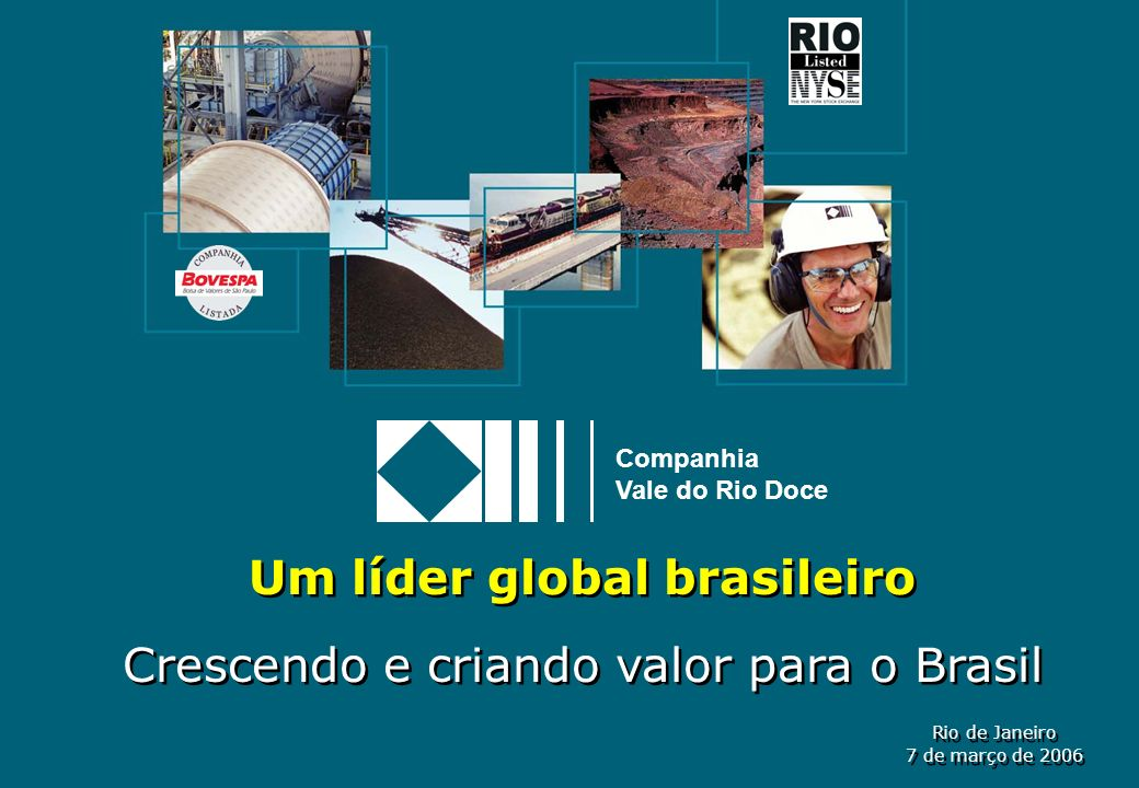 Um líder global brasileiro