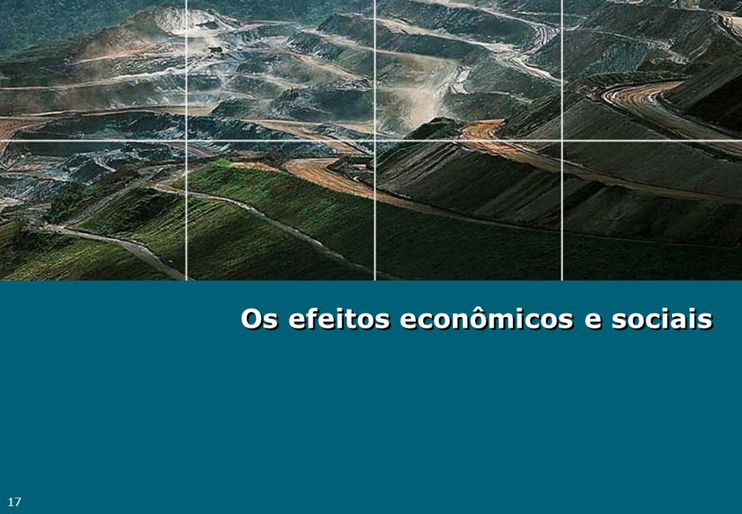 Os efeitos econômicos e sociais