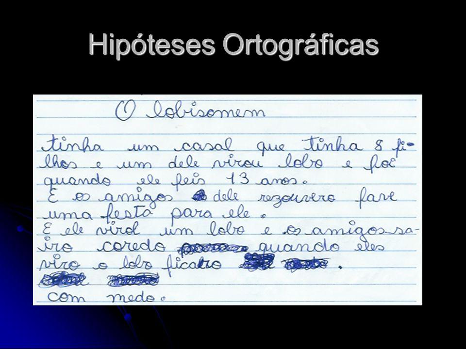 Hipóteses Ortográficas