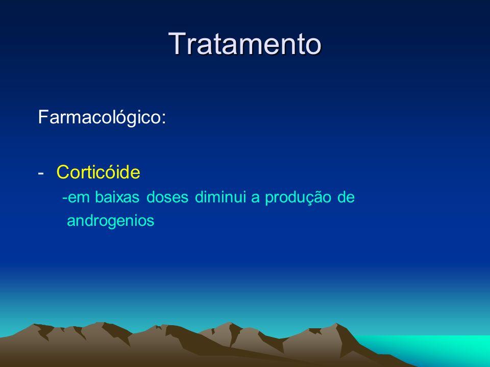Tratamento Farmacológico: Corticóide