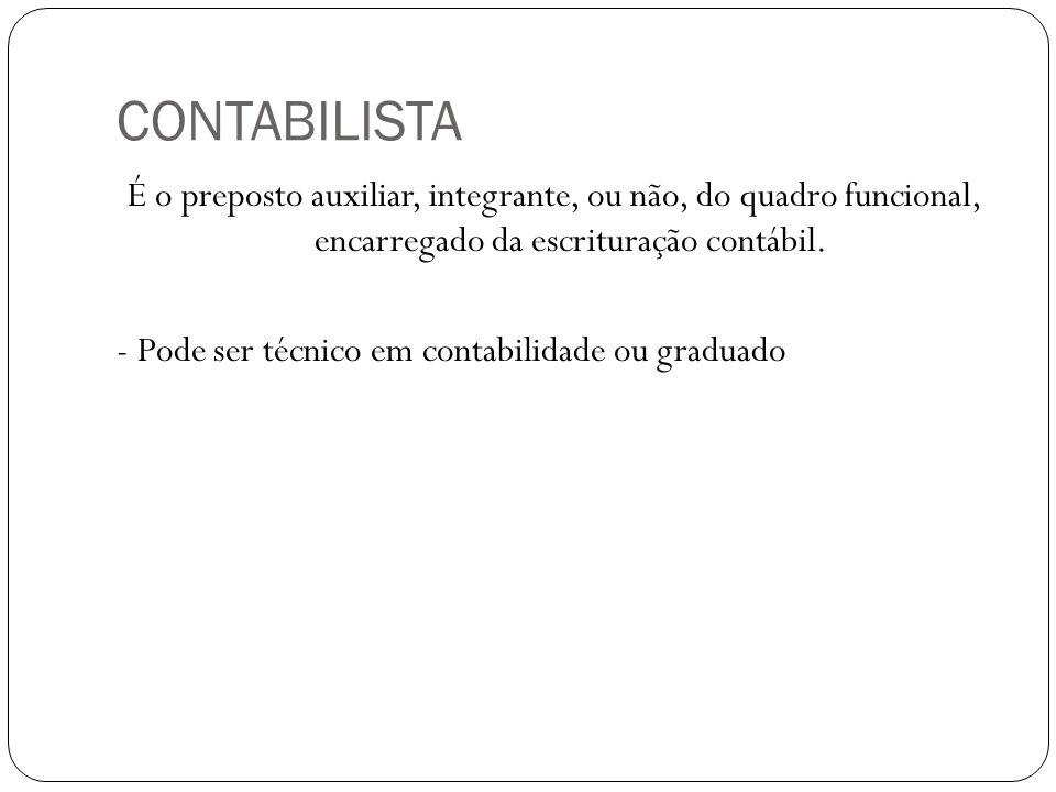 CONTABILISTA