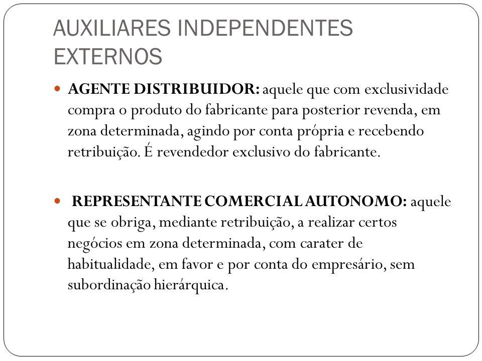AUXILIARES INDEPENDENTES EXTERNOS