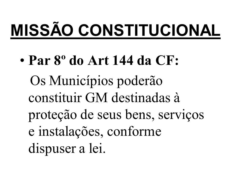 MISSÃO CONSTITUCIONAL