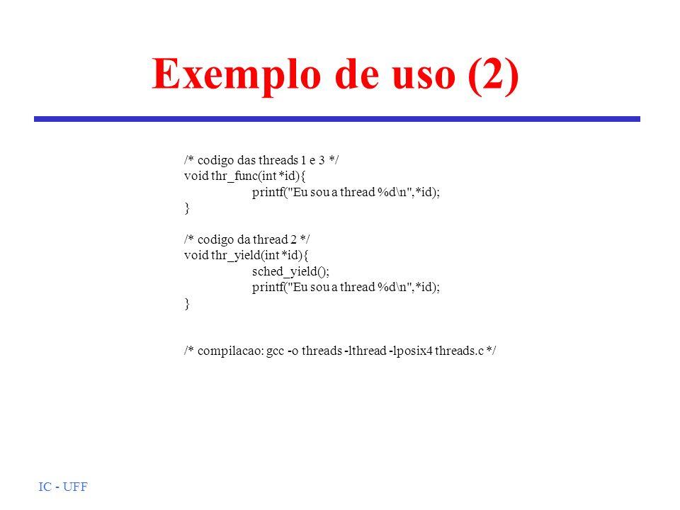 Exemplo de uso (2)