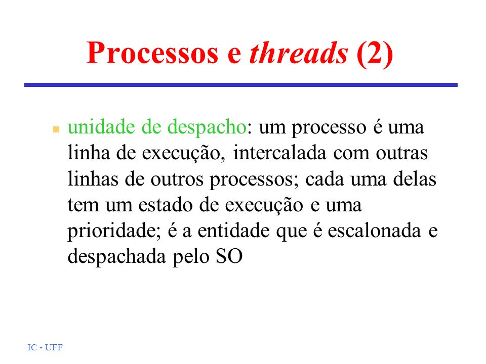 Processos e threads (2)