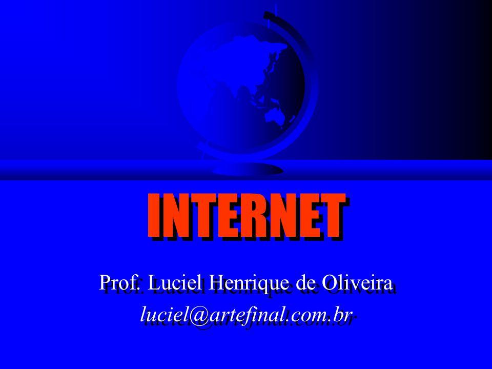 Prof. Luciel Henrique de Oliveira luciel@artefinal.com.br