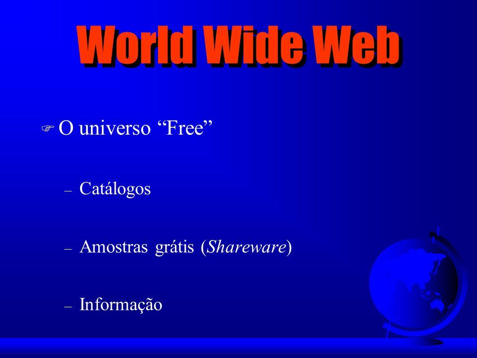 World Wide Web O universo Free Catálogos Amostras grátis (Shareware)