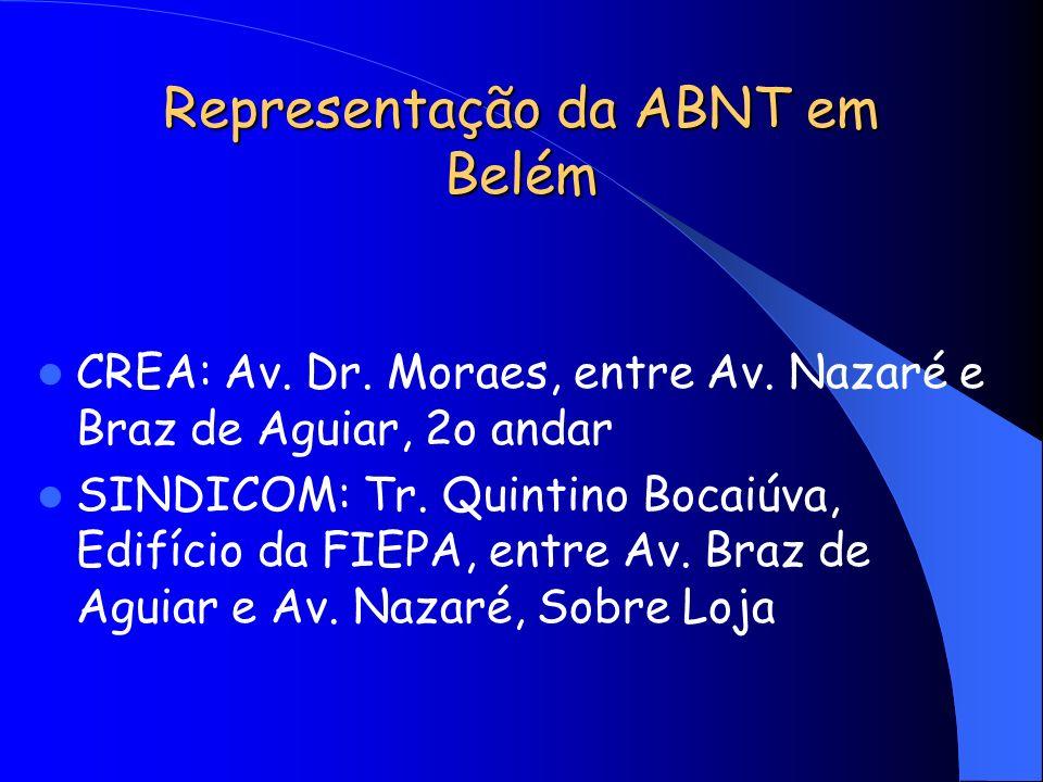 Representação da ABNT em Belém