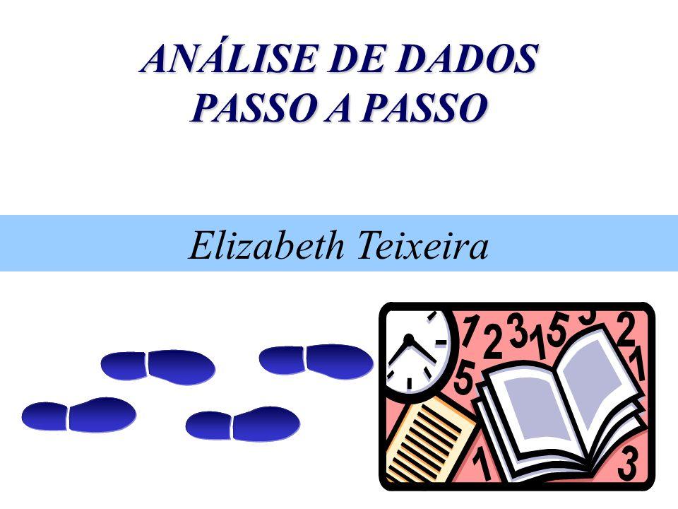 ANÁLISE DE DADOS PASSO A PASSO Elizabeth Teixeira