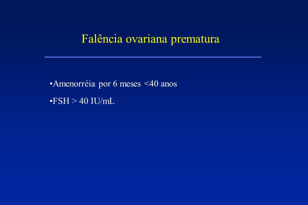 Falência ovariana prematura