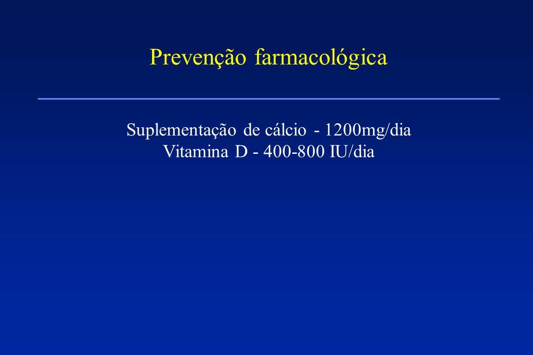 Prevenção farmacológica