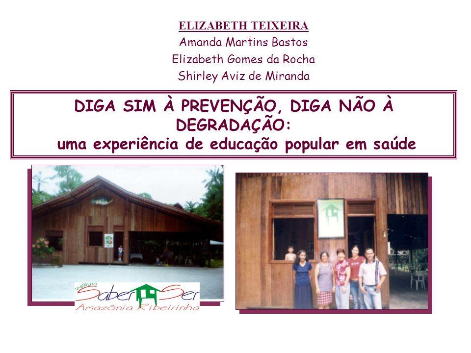 ELIZABETH TEIXEIRA Amanda Martins Bastos. Elizabeth Gomes da Rocha. Shirley Aviz de Miranda