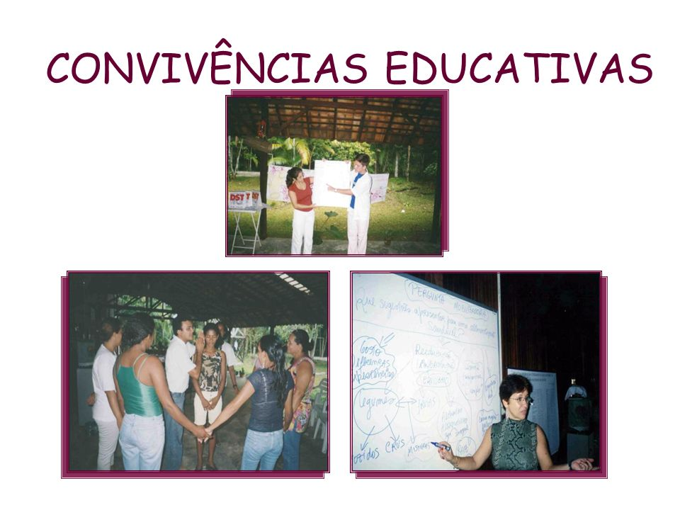 CONVIVÊNCIAS EDUCATIVAS