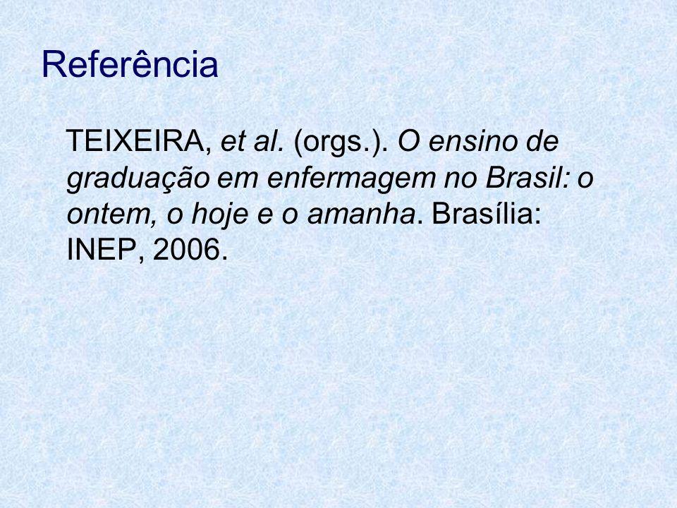 Referência TEIXEIRA, et al. (orgs.).