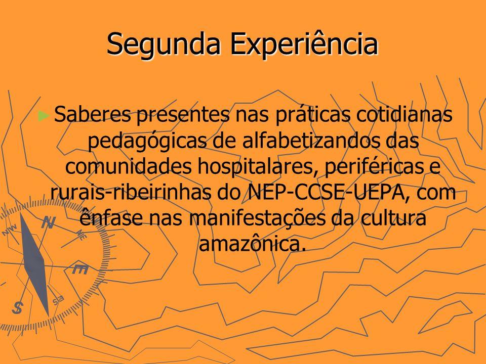 Segunda Experiência