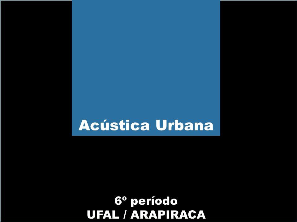 Acústica Urbana 6º período UFAL / ARAPIRACA