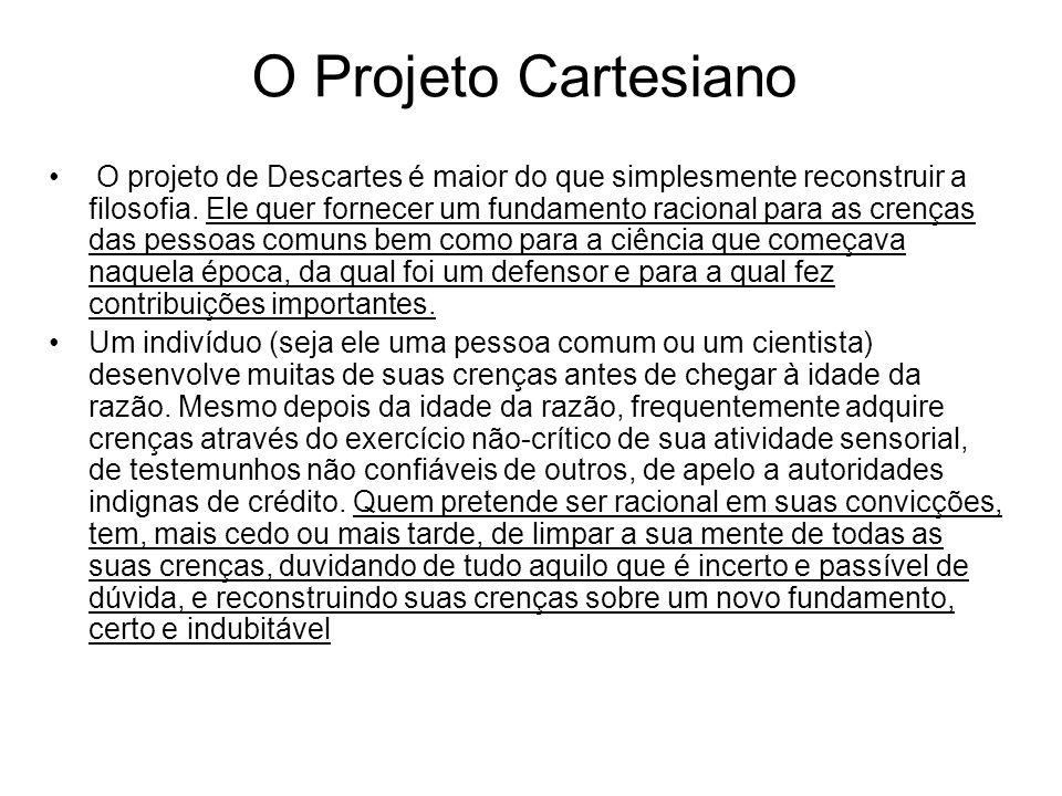 O Projeto Cartesiano