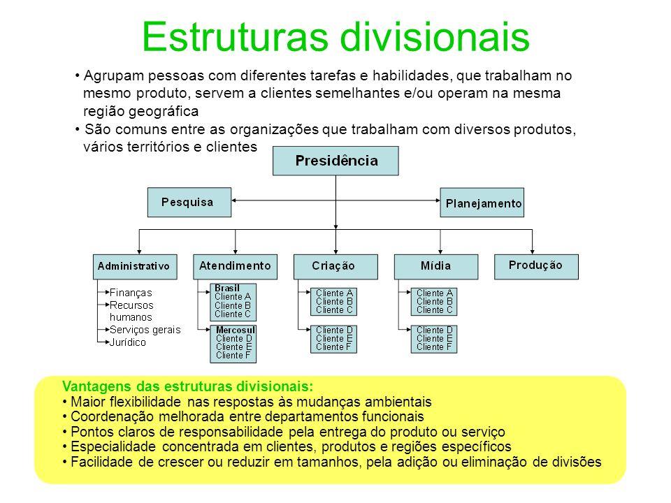 Estruturas divisionais