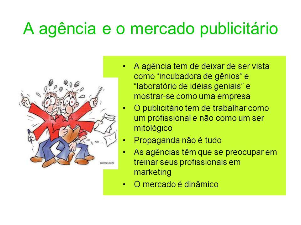 A agência e o mercado publicitário