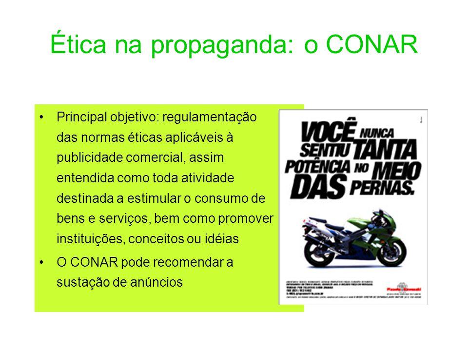 Ética na propaganda: o CONAR