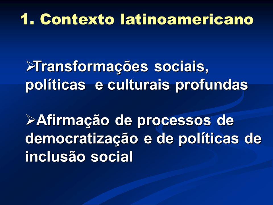 1. Contexto latinoamericano