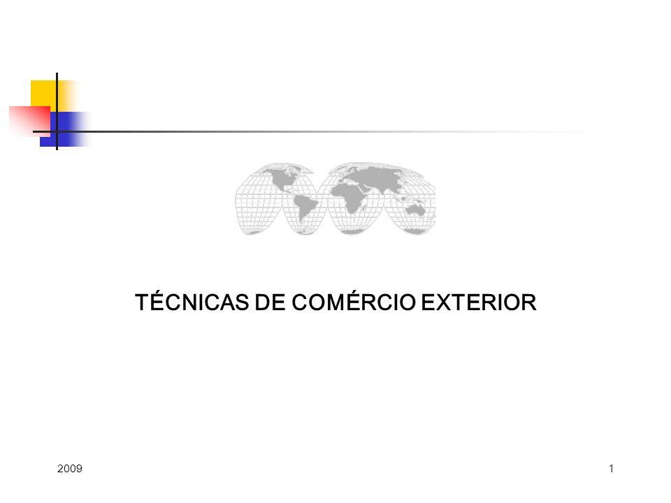 TÉCNICAS DE COMÉRCIO EXTERIOR